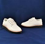 Женские Туфли Белые Лаковые Кроссовки Слипоны Мокасины (размеры: 37,38,39,40,41), фото 8