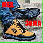 Ботинки Зимние New Balance Кроссовки Мужские на Меху Синие (размеры: 40,41,42,43,45) Видео Обзор, фото 9
