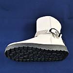 Зимние Женские Полусапожки Угги Белые Ugg Сапоги на Меху Теплые (размеры: 36,37,38,39,40), фото 5