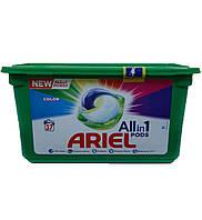 Средство д/стирки Ariel 3в1 Color капсулы 37шт., фото 1