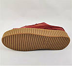 Женские Кроссовки PUMA Слипоны Красные Мокасины Пума Бордо (размеры: 36,37,38,39,40), фото 3
