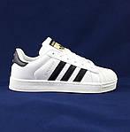 Кроссовки Adidas Superstar Белые Адидас Суперстар Женские Адидас (размеры: 36,37,38,40) Видео Обзор, фото 4