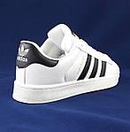 Кроссовки Adidas Superstar Белые Адидас Суперстар Женские Адидас (размеры: 36,37,38,40) Видео Обзор, фото 6