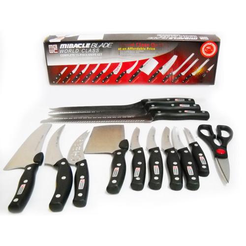 Набір ножів. Ножі кухонні. Подарунковий набір. Ножі Міракл Блэйдс (Miracle Blades)