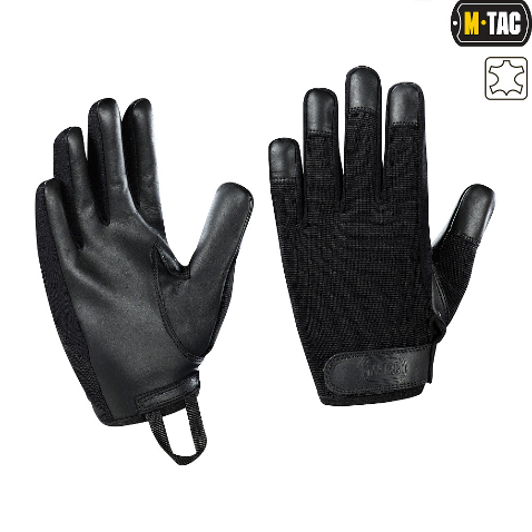 Перчатки Police Black