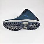 Ботинки ЗИМНИЕ Мужские Синие Кроссовки МЕХ (размеры: 41,42,43,45,46) Видео Обзор, фото 6