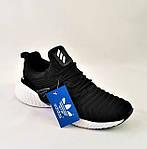 Кроссовки Мужские Adidas Alphabounce Чёрные Адидас (размеры: 44) Видео Обзор, фото 5