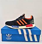 Кроссовки Adidas Мужские Адидас Синие (размеры: 40,41,42,43,44) Видео Обзор, фото 9