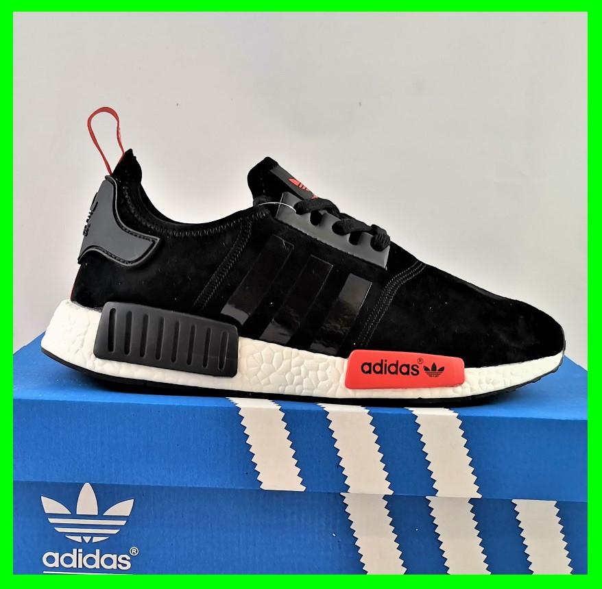 Кроссовки Adidas Boost Чёрные Мужские Адидас (размеры: 40,41,43,44) Видео Обзор
