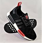 Кроссовки Adidas Boost Чёрные Мужские Адидас (размеры: 40,41,43,44) Видео Обзор, фото 7