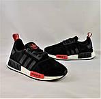Кроссовки Adidas Boost Чёрные Мужские Адидас (размеры: 40,41,43,44) Видео Обзор, фото 9