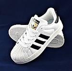 Кроссовки Adidas Superstar Белые Адидас Суперстар (размеры: 41,42,43,45) Видео Обзор, фото 2