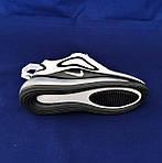 Кросівки N!ke Air Max 720 Білі з Чорним Жіночі Найк, фото 5