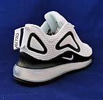Кросівки N!ke Air Max 720 Білі з Чорним Жіночі Найк, фото 6