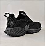 Кроссовки Мужские Adidas Alphabounce Чёрные Адидас (размеры: 44) Видео Обзор, фото 4