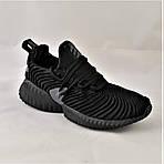 Кроссовки Мужские Adidas Alphabounce Чёрные Адидас (размеры: 44) Видео Обзор, фото 6