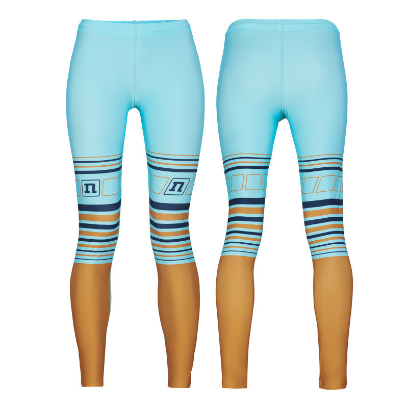 Лосины Noname WS ON THE MOVE RACE PANTS WO'S 21 TEAL/GOLD