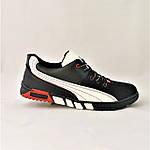 Кроссовки Мужские Чёрные Мокасины (размеры: 40,41,42,43,45) Видео Обзор, фото 5