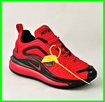 Кросівки N!ke Air Max 720 Червоні з Чорним Найк Жіночі (розміри: 36,37,38,39) Відео Огляд, фото 10