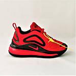 Кросівки N!ke Air Max 720 Червоні з Чорним Найк Жіночі (розміри: 36,37,38,39) Відео Огляд, фото 3