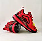 Кросівки N!ke Air Max 720 Червоні з Чорним Найк Жіночі (розміри: 36,37,38,39) Відео Огляд, фото 5