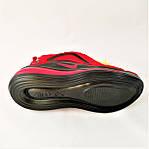 Кросівки N!ke Air Max 720 Червоні з Чорним Найк Жіночі (розміри: 36,37,38,39) Відео Огляд, фото 8