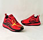 Кросівки N!ke Air Max 720 Червоні з Чорним Найк Жіночі (розміри: 36,37,38,39) Відео Огляд, фото 9