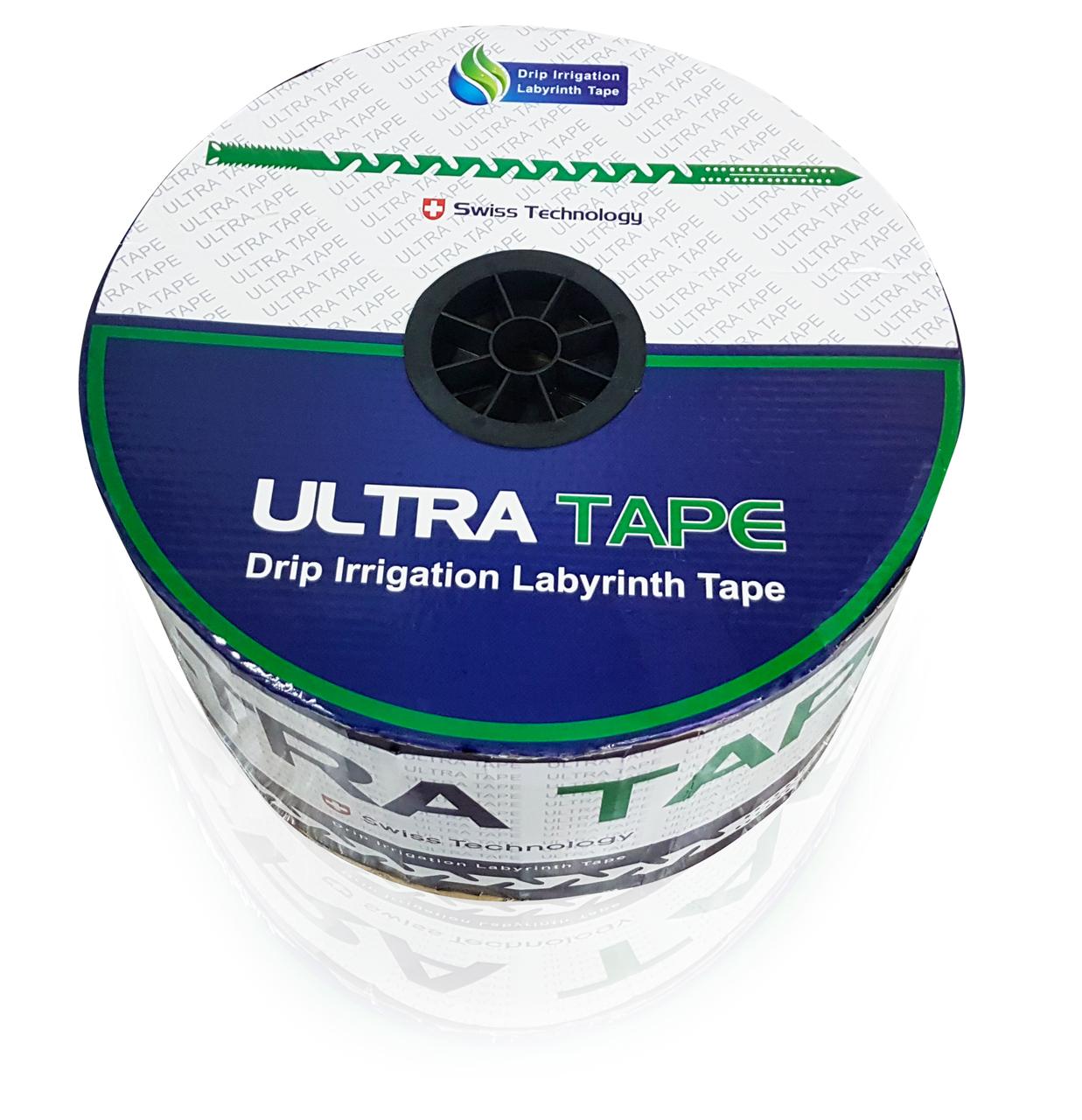 Капельная лента Ultra Tape щелевая 7 mil 20 см (3000 м)