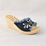 Женские Шлёпанцы Сабо на Танкетке Платформе (размеры: 38,39,40), фото 7