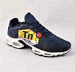 Кроссовки Мужские N!ke Tn Air Max Plus OG Синие Найк (размеры: 41,42,43,44,45) Видео Обзор, фото 5