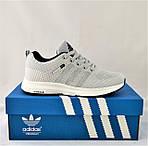 Кроссовки Adidas Neo Серые Адидас Мужские (размеры: 40,41,42,43,44,45) Видео Обзор, фото 2