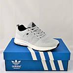 Кроссовки Adidas Neo Серые Адидас Мужские (размеры: 40,41,42,43,44,45) Видео Обзор, фото 10