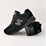 Кроссовки New Balance 574 Черные Мужские (размеры: 44,45,46), фото 8