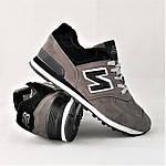 Кроссовки New Balance 574 Серые Мужские (размеры: 41), фото 4