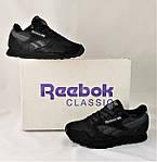 Кроссовки Reebok Classic Черные Рибок Женские (размеры: 36,37,38,39,40), фото 10