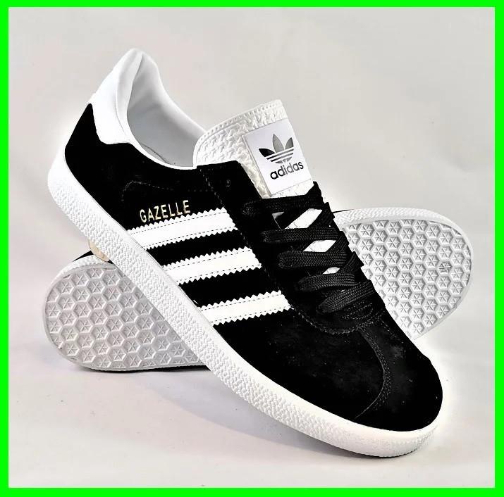 Кроссовки Adidas Gazelle Черные Адидас Женские (размеры: 37,38,41) Видео Обзор