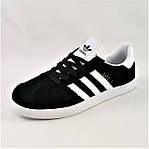 Кроссовки Adidas Gazelle Черные Адидас Женские (размеры: 37,38,41) Видео Обзор, фото 6