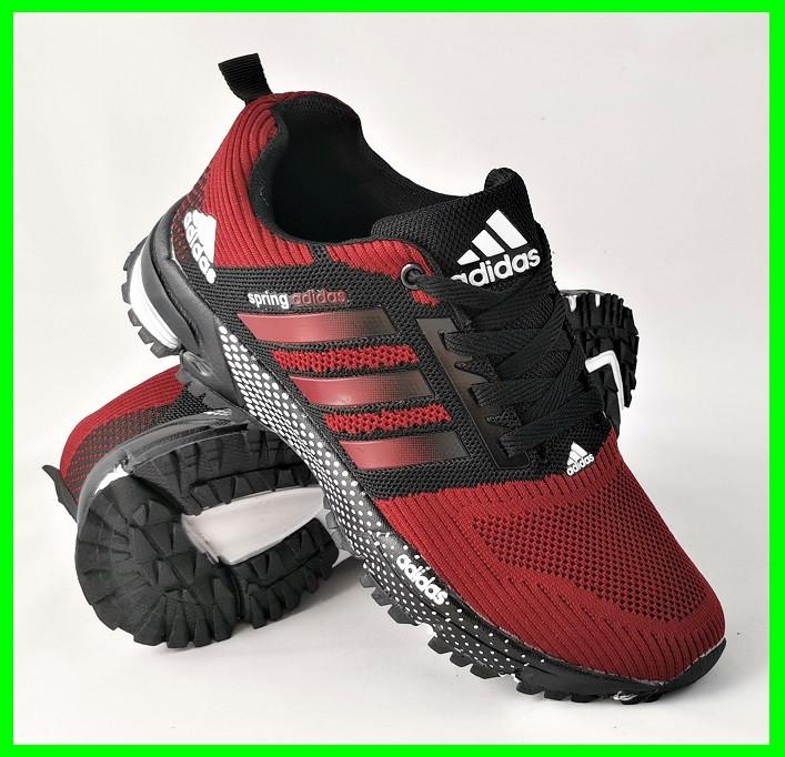 Кроссовки Adidas Spring Красные Мужские Адидас (размеры: 41,44,45,46) Видео Обзор