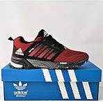 Кроссовки Adidas Spring Красные Мужские Адидас (размеры: 41,44,45,46) Видео Обзор, фото 2