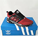 Кроссовки Adidas Spring Красные Мужские Адидас (размеры: 41,44,45,46) Видео Обзор, фото 3