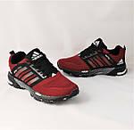 Кроссовки Adidas Spring Красные Мужские Адидас (размеры: 41,44,45,46) Видео Обзор, фото 8