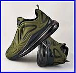 Кроссовки N!ke Air Max 720 Зелёные Хаки Мужские Найк (размеры: 41,42,43,44) Видео Обзор, фото 2
