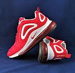 Кроссовки N!ke Air Max 720 Красные Мужские Найк (размеры: 41,42,43,44,45,46) Видео Обзор, фото 2
