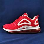 Кроссовки N!ke Air Max 720 Красные Мужские Найк (размеры: 41,42,43,44,45,46) Видео Обзор, фото 4