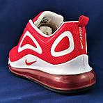 Кроссовки N!ke Air Max 720 Красные Мужские Найк (размеры: 41,42,43,44,45,46) Видео Обзор, фото 7