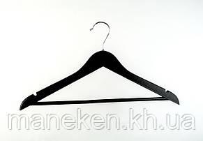 Плечики деревянные 44см(черный), фото 2