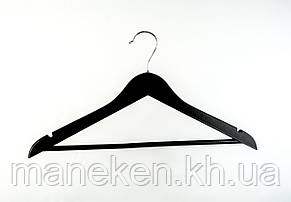 Плічка дерев'яні 44см(чорний), фото 2