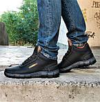 Ботинки ЗИМНИЕ Мужские Colamb!a Кроссовки на Меху Чёрные (размеры:40,41,42,43) Видео Обзор, фото 2