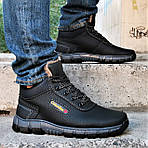 Ботинки ЗИМНИЕ Мужские Colamb!a Кроссовки на Меху Чёрные (размеры:40,41,42,43) Видео Обзор, фото 3