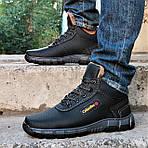 Ботинки ЗИМНИЕ Мужские Colamb!a Кроссовки на Меху Чёрные (размеры:40,41,42,43) Видео Обзор, фото 4